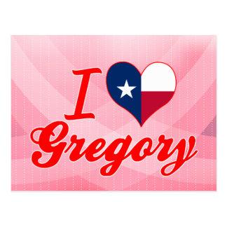 Amo Gregory, Tejas Tarjeta Postal