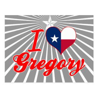 Amo Gregory, Tejas Tarjetas Postales