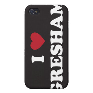 Amo Gresham Oregon iPhone 4 Carcasa