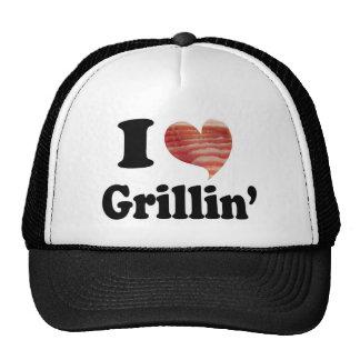 Amo Grillin Gorros Bordados