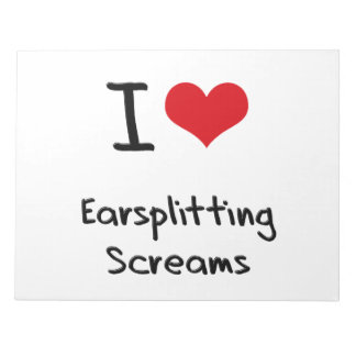 Amo gritos Earsplitting Blocs