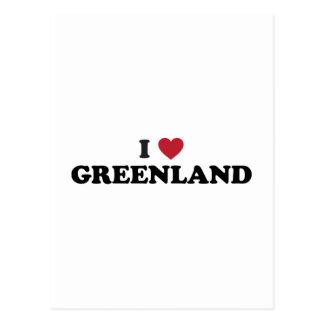 Amo Groenlandia Postales