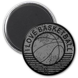 Amo grunge del baloncesto imán de frigorifico