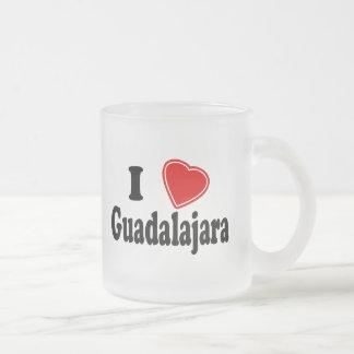 Amo Guadalajara Taza De Cristal