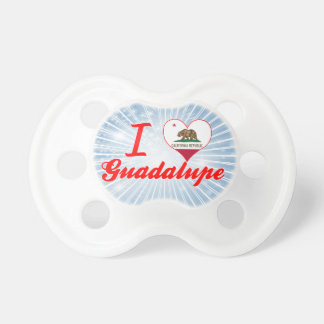 Amo Guadalupe, California Chupete De Bebé