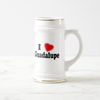 Amo Guadalupe Jarra De Cerveza