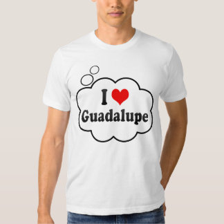Amo Guadalupe, México Camisas