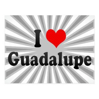 Amo Guadalupe, México Tarjetas Postales