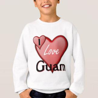 Amo Guam Sudadera