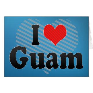 Amo Guam Tarjeta De Felicitación