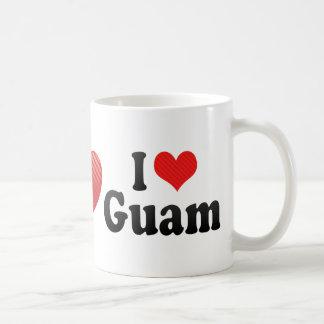 Amo Guam Taza De Café
