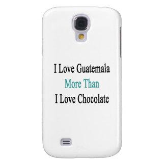 Amo Guatemala más que el chocolate del amor de I