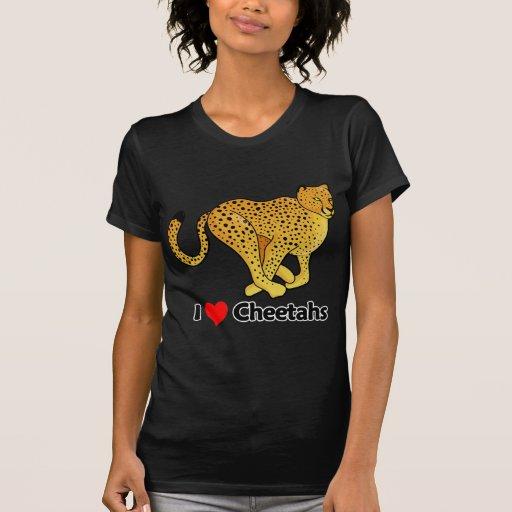 Amo guepardos playeras