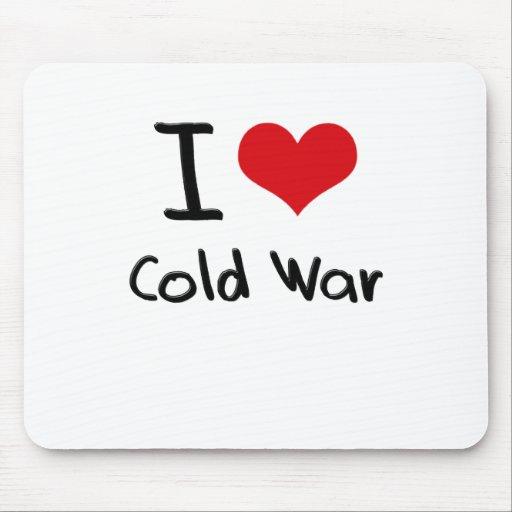 Amo guerra fría tapete de raton