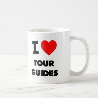Amo guías turísticos tazas