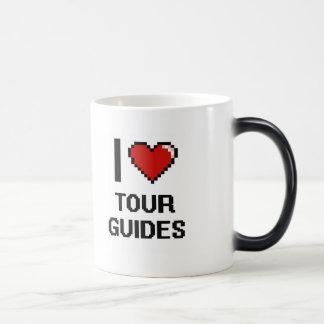 Amo guías turísticos taza mágica