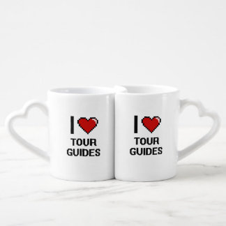 Amo guías turísticos taza amorosa