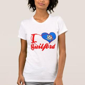 Amo Guilford, Connecticut Camisetas