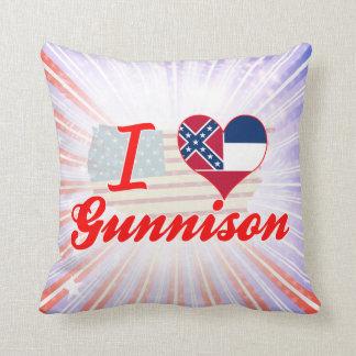 Amo Gunnison, Mississippi Almohada