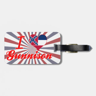 Amo Gunnison, Mississippi Etiquetas Para Equipaje