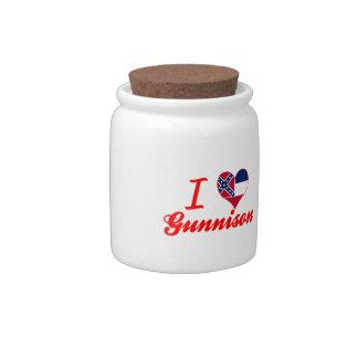 Amo Gunnison, Mississippi Jarra Para Caramelo
