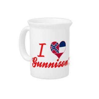 Amo Gunnison, Mississippi Jarrones