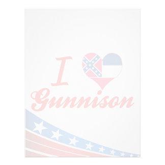 Amo Gunnison, Mississippi Membrete A Diseño