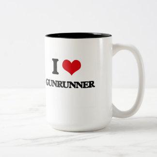 Amo Gunrunner Tazas