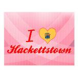 Amo Hackettstown, New Jersey Postales