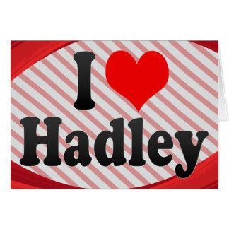 Amo Hadley Tarjeta Pequeña