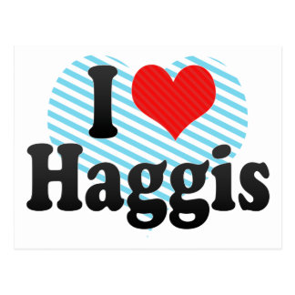 Amo Haggis Postales