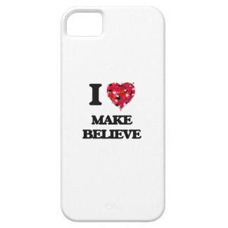 Amo hago para creer iPhone 5 fundas