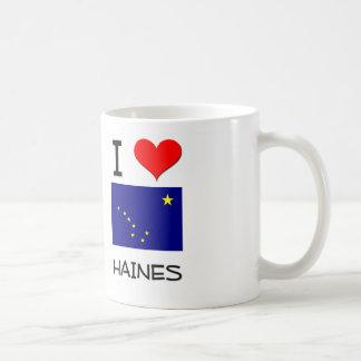 Amo HAINES Alaska Taza Básica Blanca