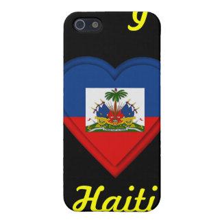 Amo Haití iPhone 5 Funda