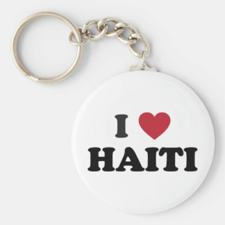 Amo Haití Llavero Personalizado