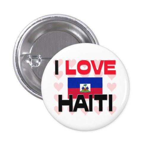 Amo Haití Pin