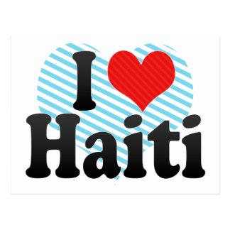 Amo Haití Postales