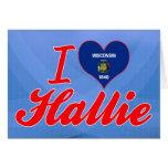 Amo Hallie, Wisconsin Felicitación