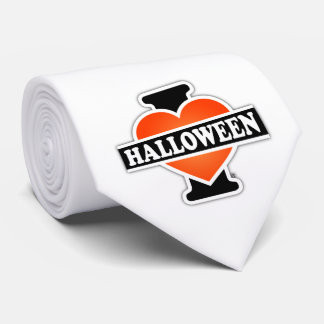 Amo Halloween #1 Corbata Personalizada