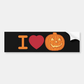 Amo Halloween Pegatina Para Auto