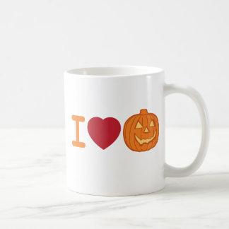 Amo Halloween Tazas De Café