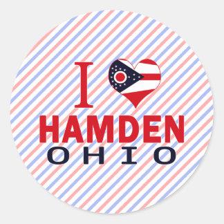 Amo Hamden Ohio Etiqueta