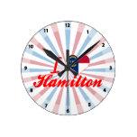 Amo Hamilton, Carolina del Norte Relojes