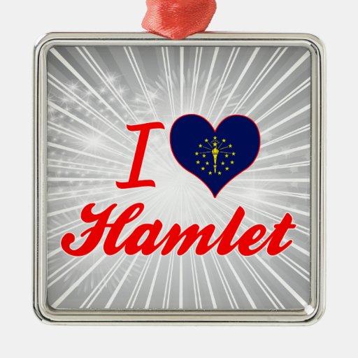 Amo Hamlet, Indiana Adorno De Navidad