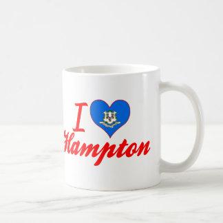 Amo Hampton, Connecticut Tazas De Café