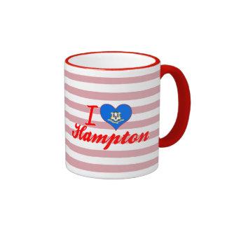 Amo Hampton, Connecticut Taza De Café