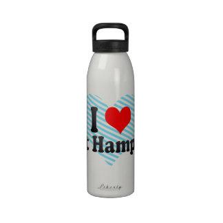 Amo Hampton del este Estados Unidos Botellas De Beber