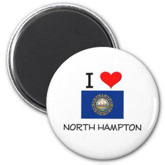 Amo Hampton del norte New Hampshire Imán Redondo 5 Cm
