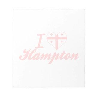 Amo Hampton, Georgia Bloc De Papel