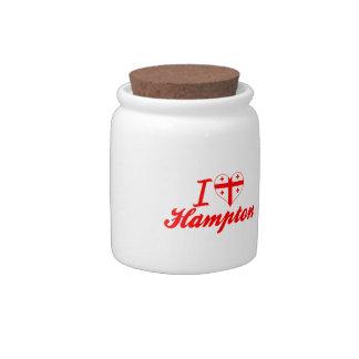 Amo Hampton, Georgia Jarras Para Caramelos
